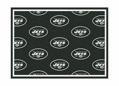 "New York Jets 3'10"" x 5'4"" Premium Pattern Rug"