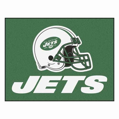 New York Jets 34 x 45 Rug