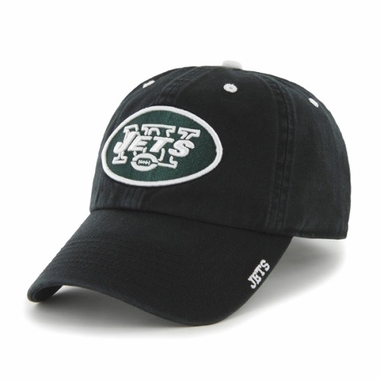 New York Jets 47 Brand NFL Clean Up Ice Adjustable Hat - Black