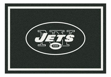 "New York Jets 5'4"" x 7'8"" Premium Spirit Rug"