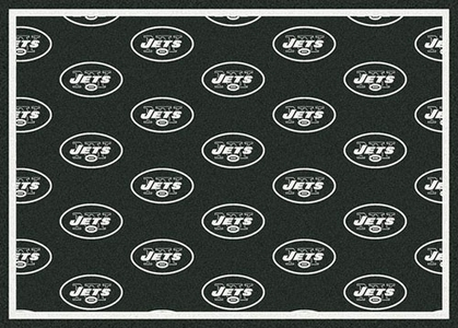 "New York Jets 7'8 x 10'9"" Premium Pattern Rug"
