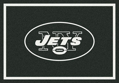 "New York Jets 7'8"" x 10'9"" Premium Spirit Rug"