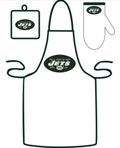 New York Jets Grilling Apron Set