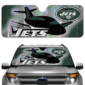 New York Jets Auto Sun Shade