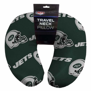 New York Jets Beaded Neck Pillow
