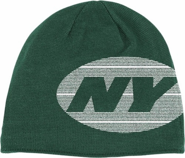 New York Jets Big Logo Knit Hat