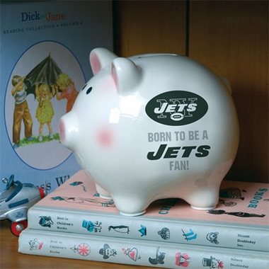 New York Jets (Born to Be) Piggy Bank