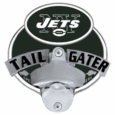 New York Jets Bottle Opener Hitch Cover