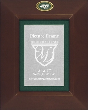 New York Jets BROWN Portrait Picture Frame