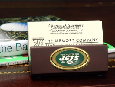 New York Jets Business Card Holder