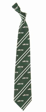 New York Jets Cambridge Woven Silk Necktie
