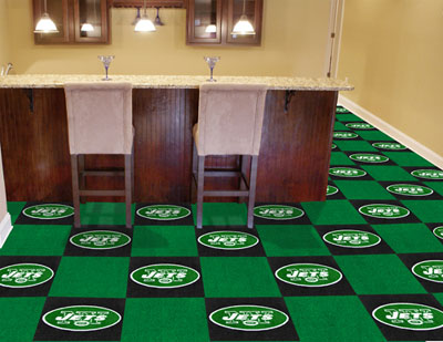 New York Jets Carpet Tiles