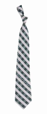 New York Jets Check Poly Necktie