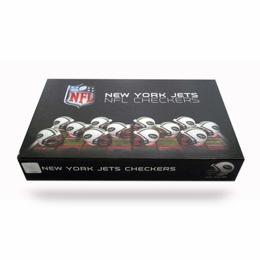 New York Jets Checkers Set