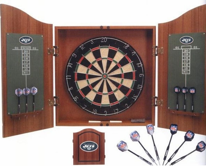 New York Jets Complete Dart Cabinet