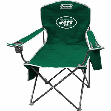 New York Jets Cooler Quad Tailgate Chair