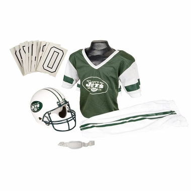 New York Jets Deluxe Youth Uniform Set
