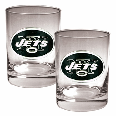 New York Jets Double Rocks Set