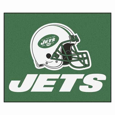 New York Jets Economy 5 Foot x 6 Foot Mat