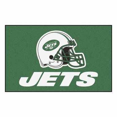 New York Jets Economy 5 Foot x 8 Foot Mat