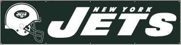 New York Jets Eight Foot Banner