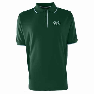 New York Jets Mens Elite Polo Shirt (Team Color: Green)