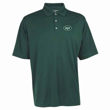 New York Jets Mens Exceed Polo (Team Color: Green)