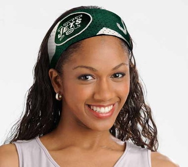 New York Jets FanBand Hair Band