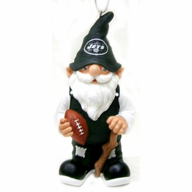 New York Jets Gnome Christmas Ornament