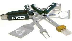 New York Jets Grill BBQ Utensil Set
