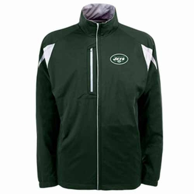 New York Jets Mens Highland Water Resistant Jacket (Team Color: Green)