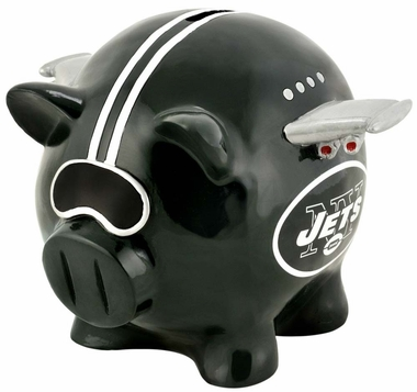 New York Jets Piggy Bank - Thematic Large