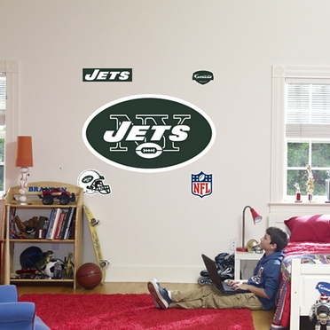 New York Jets Logo Fathead Wall Graphic