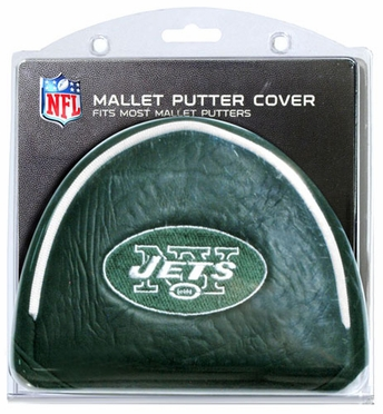 New York Jets Mallet Putter Cover