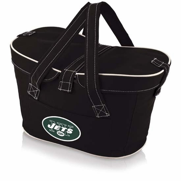 New York Jets Mercado Picnic Basket (Black)