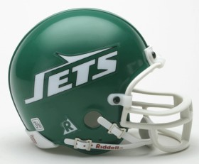 New York Jets Mini Replica Throwback Football Helmet