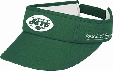 New York Jets Mitchell & Ness Throwback Adjustable Summer Visor