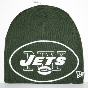 New York Jets New Era Big One Too Cuffless Knit Hat