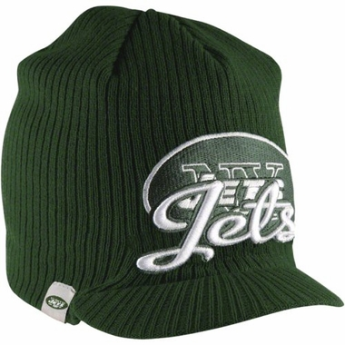 New York Jets New Era NFL Retro Viza Visor Knit Hat