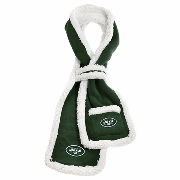New York Jets NFL Team Sherpa Scarf