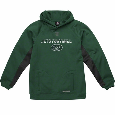 New York Jets NFL YOUTH Endurance Performance Pullover Hooded Sweatshirt