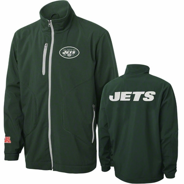 New York Jets Overtime Full Zip Softshell Premium Jacket