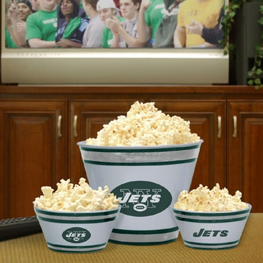 New York Jets Plastic Serving Set