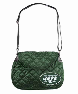 New York Jets Quilted Saddlebag