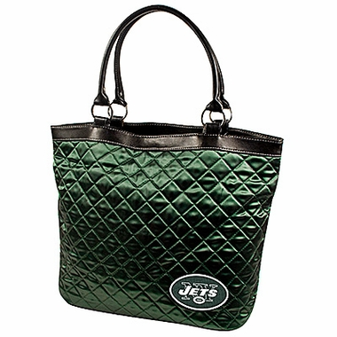 New York Jets Quilted Tote
