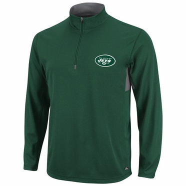 New York Jets Read and React 1/4 Zip Performance Shirt