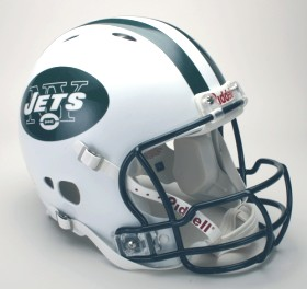New York Jets Riddell Full Size Authentic Revolution Helmet