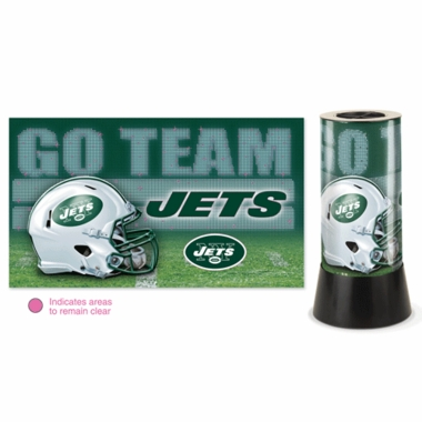 New York Jets Rotating Lamp