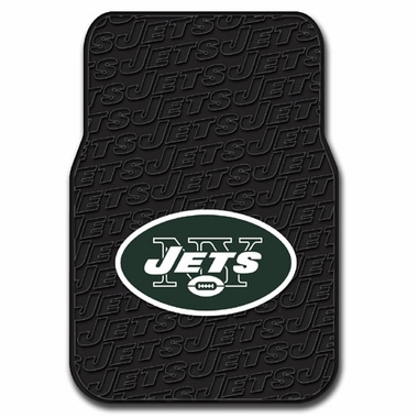 New York Jets Set of Rubber Floor Mats