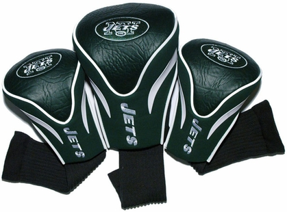 New York Jets Set of Three Contour Headcovers